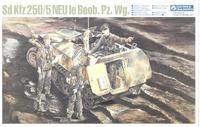 Склеиваемая модель немецкого бронетранспортёра SD KFZ 250/5