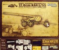 Немецкая противотанковая пушка 12.8cmK44L/55 /GermanRheinmetall12.8cmK44L/55Anti-TankGun