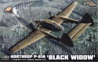 Истребитель Нортроп P-61А «Блэк Уидоу» («Чёрная вдова»)