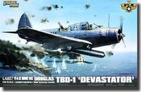 Бомбардировщик Дуглас TBD-1 Девастейтор