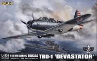 "Бомбардировщик Douglas Douglas  TBD-1 ""Devastator"" - VT-6 at Wake Island 1942"