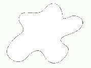 Акриловая краска HOBBY COLOR, цвет: Белый (основа), тип: Глянец