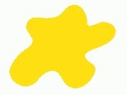 Акриловая краска HOBBY COLOR, цвет: Жёлтый (основа), тип: Глянец