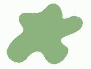 Акриловая краска, цвет: Салатово-зелёный (основа), тип: Глянец