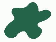 Акриловая краска, цвет: Зелёный армейской авиации(авиация, Япония, ІІ Мировая), тип: Полуматовый