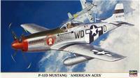 """Истребитель P-51D Mustang """"American Aces"""""""