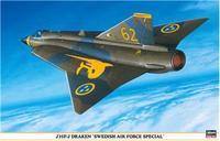 "Истребитель-перехватчик J35F/J DRACEN ""SWEDISH AIR FORCE SPECIAL"""