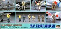 Набор пилотов (США, Японии, Великобритании, Германии)