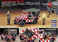 HA36011 FOLLOW ME Jeep Willys MB