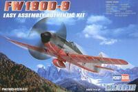 Пластиковая модель самолета FW-190D-9