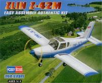 Модель самолета ZLIN Z-42M