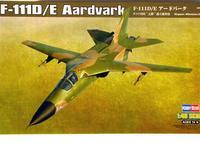 Сборная модель самолета F-111D/E Aardvark