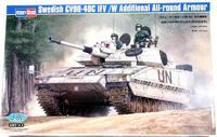 Шведская БМП CV90-40C с дополнительной броней