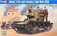 Советский легкий танк Т-26 образца 1935 г.