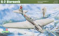 Пластиковая модель советского штурмовика Ил-2