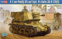 САУ с чешской 4.7 cm противотанковой пушкой на шасси R35