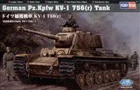 Немецкий танк Pz.Kpfw KV-1 756 (r)