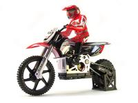 Мотоцикл Himoto Burstout MX400 2.4GHz с электродвигателем (Красный)