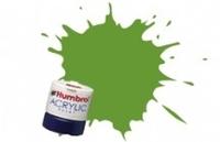 Краска водорастворимая HUMBROL лайм