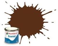 Краска эмалевая HUMBROL коричневая немецкая матовая