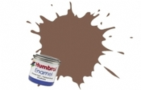 Краска эмалевая HUMBROL коричневая (матовая)