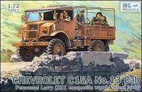 Chevrolet C15A No.13 Cab Personnel Lorry