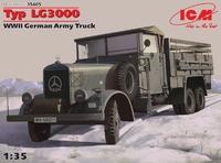 Германский армейский грузовик Typ LG3000 ІІ МВ