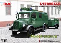 Немецкий легкий пожарный автомобиль L1500S LLG