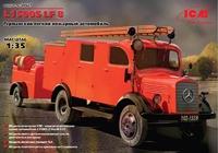 Германский легкий пожарный автомобиль L1500S LF 8