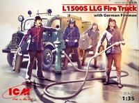 Пожарная машина L1500S LLG с германскими пожарными