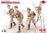 Русская пехота, Первая мировая война