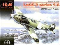 ICM48091 Lavochkin LaGG-3 series 1-4 WWII Soviet fighter