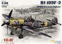 Messerchmitt Bf-109 F2 WWII German fighter