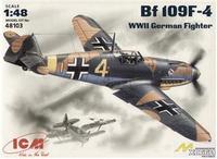 Messerchmitt Bf-109 F4 WWII German fighter