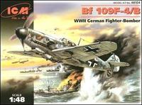 Messerchmitt Bf 109F-4 WWII German fighter