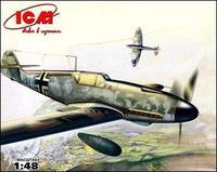 ICM48106 Messerschmitt Bf-109 F4/R3 WWII German fighter