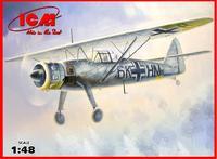 Hs 126B-1 Немецкий самолет-разведчик