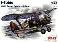 Советский истребитель-биплан И-15 бис