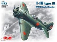 Cоветский истребитель И-16 тип 18