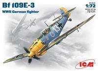 Немецкий истребитель Messerchmitt Bf-109 E3