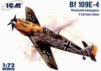 Немецкий истребитель Messerchmitt Bf-109 E4