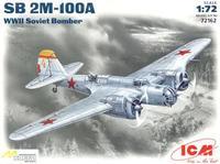 Советский бомбардировщик SB 2M-100A