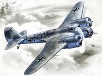 Немецкий бомбардировщик Avia B-71