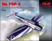 Испанский самолет-разведчик Heinkel He 70F-2