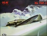 Немецкий самолет-разведчик Heinkel He 70F-2