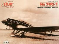Немецкий пассажирский самолет Heinkel He 70G-1