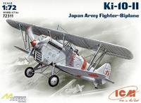 Японский истребитель-биплан Ki-10-II