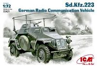 Немецкий бронеавтомобиль радиосвязи Sd.Kfz.223