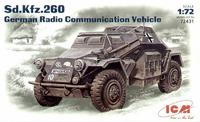 Германский бронеавтомобиль радиосвязи Sd.Kfz.260