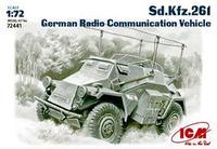 Немецкий автомобиль радиосвязи Sd.Kfz.261